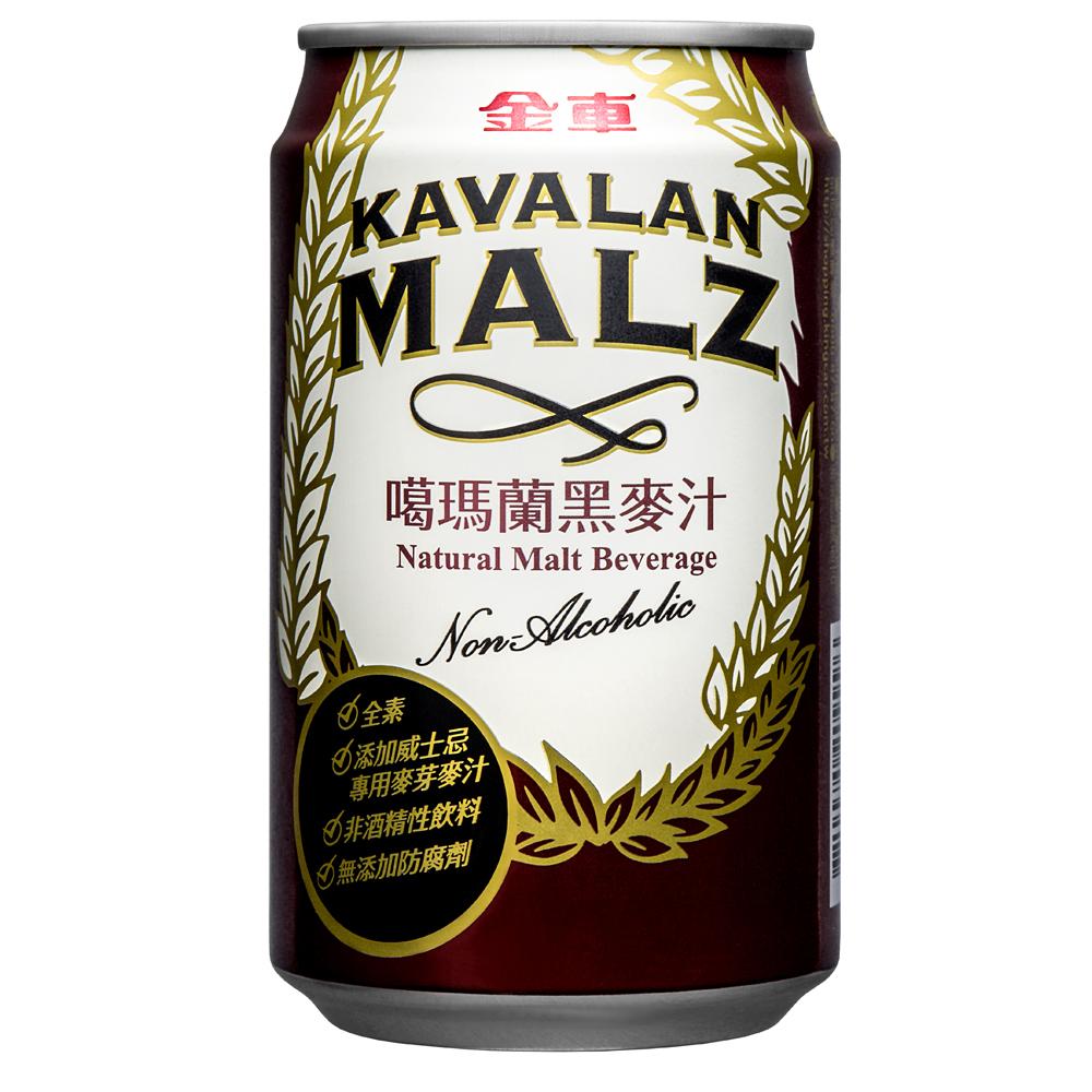 金車 噶瑪蘭麥汁易開罐(310mlx24罐)