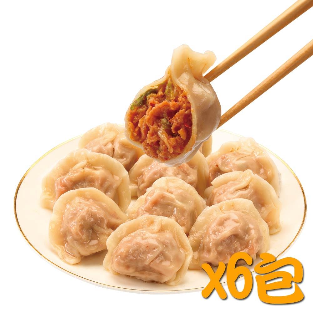 鄉味 泡菜水餃(50顆/包)(6包)