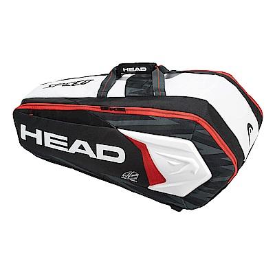 HEAD 球星簽名款 Djokovic Supercombi 9支裝球拍袋 283048