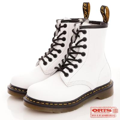 『ORIS』女款 經典個性休閒靴.馬汀靴~白