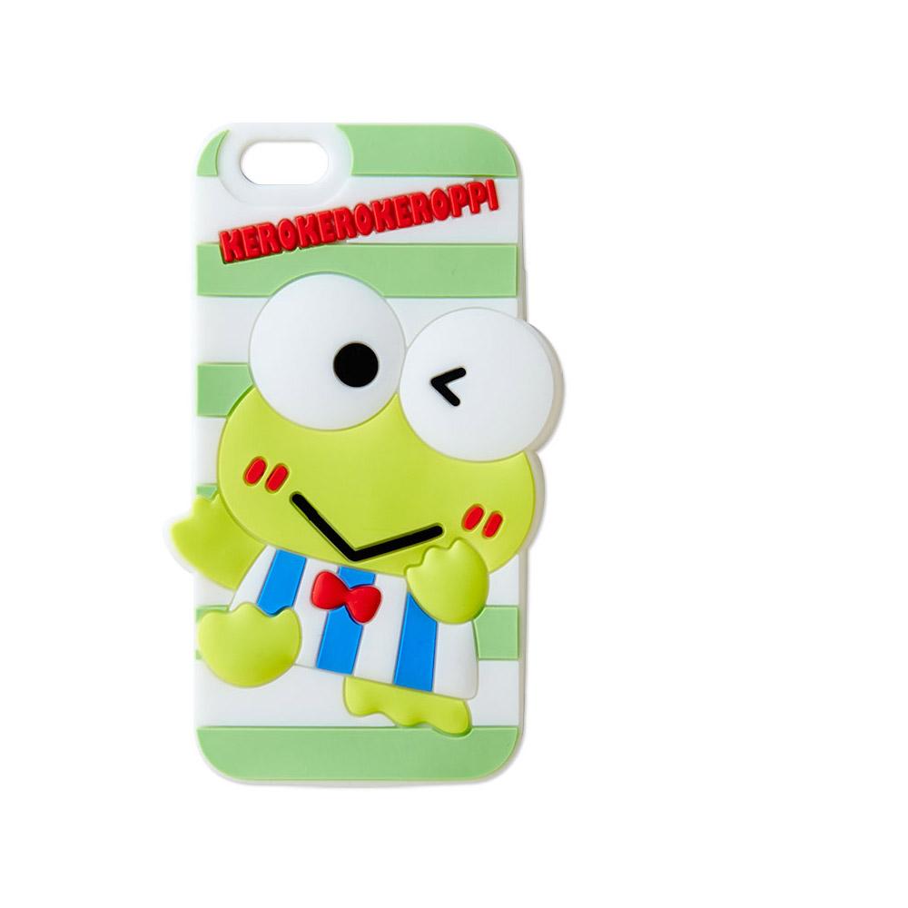 Sanrio 大眼蛙元氣條紋系列iPhone6矽膠造型保護殼
