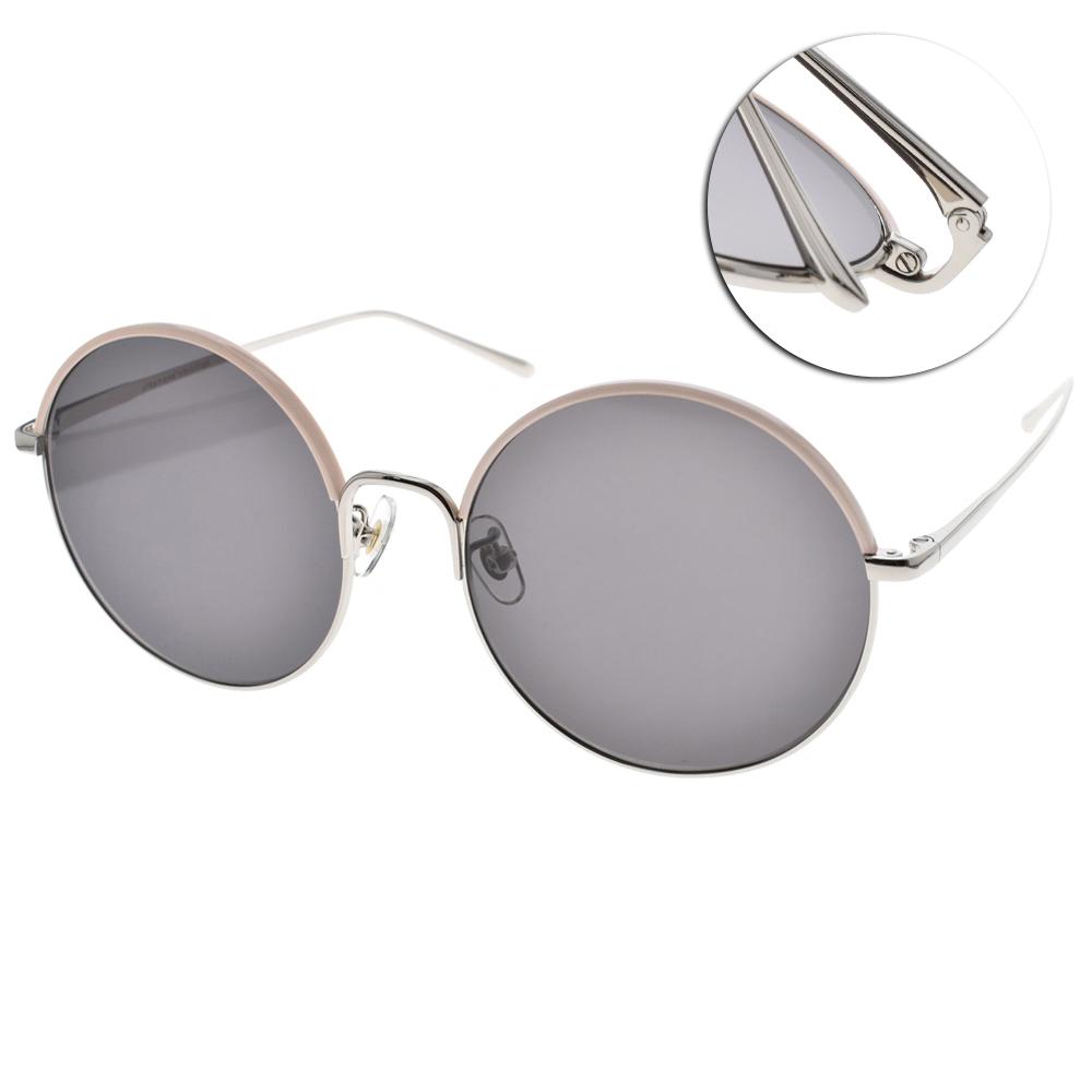 STEPHANE CHRISTIAN太陽眼鏡 圓框款/粉銀#CANTABLE PKSV