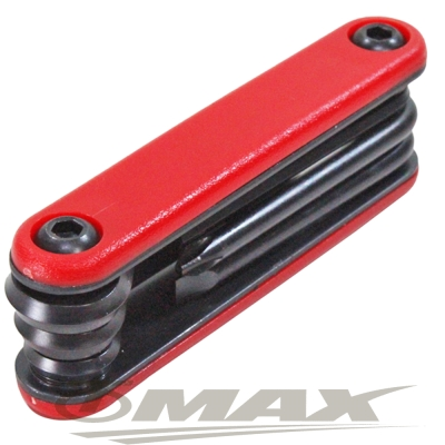 omax台製七合一折疊工具組-2入(顏色隨機)-8H