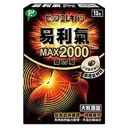 易利氣 磁力貼 大範圍型-MAX2000高斯(12粒/