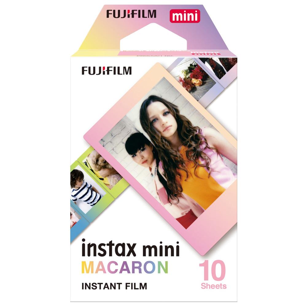 [3盒裝]FUJIFILM instax mini 拍立得底片(馬卡龍)