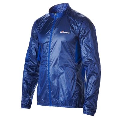 【Berghaus 貝豪斯】男款VAPOUR防潑水外套S02M04-藍