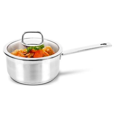 樂扣樂扣 酷菲偲CookPlus 304不鏽鋼單柄湯鍋18cm (8H)