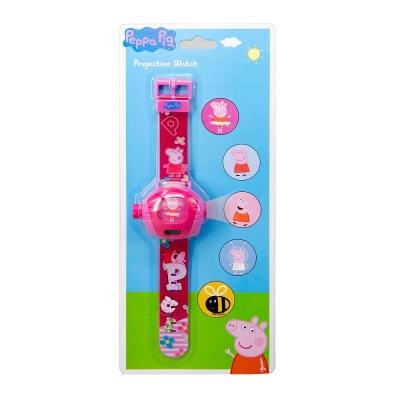 粉紅豬小妹-佩佩神奇投影手錶