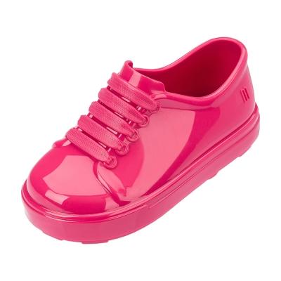 MINI MELISSA漆皮 風小童鞋~粉紅