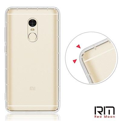 RedMoon Xiaomi 紅米 Note4 防摔透明TPU手機軟殼(標準版)