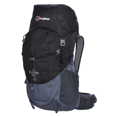 【Berghaus 貝豪斯】男款FREEFLOW40L專業登山包T27M16灰/黑