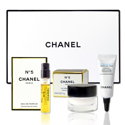 CHANEL 香奈兒 N°5簡約時尚精緻禮盒