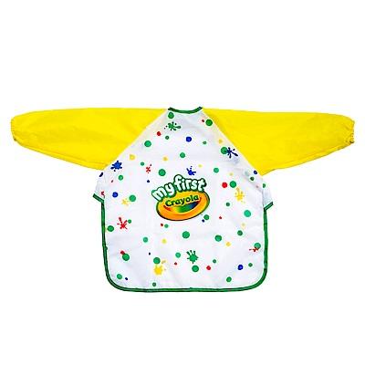美國 Crayola繪兒樂 幼兒可水洗塗鴉罩衫(12M+)