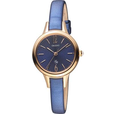 ORIENT 東方錶 LADY ROSE系列 都會時尚淑女腕錶-藍/29mm