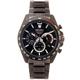 SEIKO-黑色疾風競速風格的計時手錶-SSB31