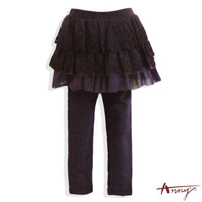 公主蕾絲網紗蓬蓬褲裙*4659紫