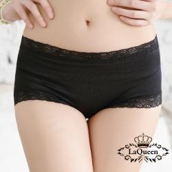 內褲  高質感蠶絲親膚內褲-黑 La Queen