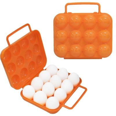 迪伯特DIBOTE 外出便攜蛋盒/雞蛋收納盒-12顆裝