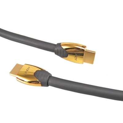 LINDY Premium Gold 高速 HDMI 2.0 A公對A公 連接線 3M