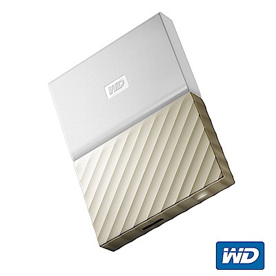 WD My Passport Ultra 2TB 2.5吋行動硬碟(白金/薄型)