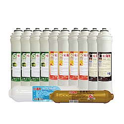 Essenpure水蘋果 EP05活礦機 專用濾心一年份(12支組)