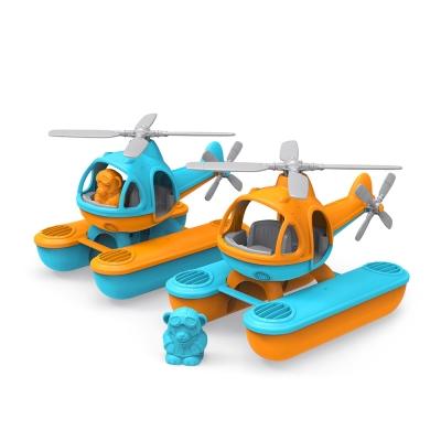 【Green Toys】藍蜻蜓水上直升機