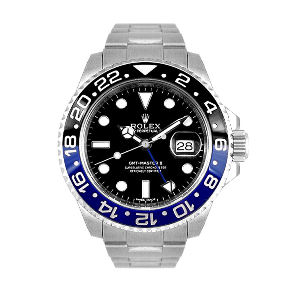 ROLEX 勞力士 GMT 116710BLNR 蠔式恆動藍黑圈水鬼-40mm
