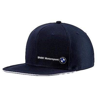 PUMA-男女BMW系列蓋帽-車隊藍