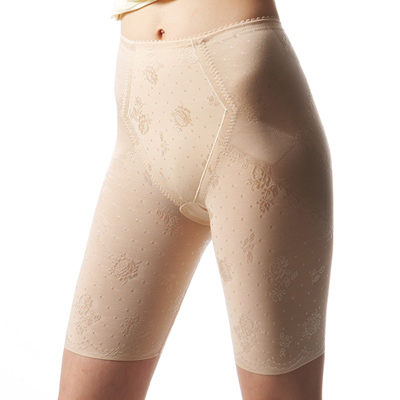 曼黛瑪璉-魔幻美型-輕機能中管束褲P1220-暖膚