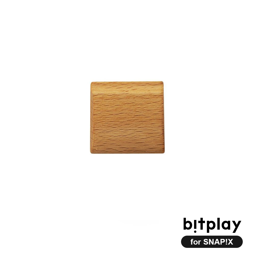 bitplay SNAP!X 相機殼專用經典原木製木把手-淺色山毛櫸