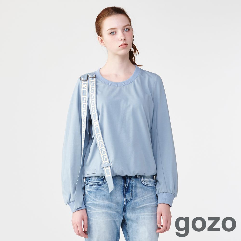 gozo回憶封存浪漫長袖上衣(二色)