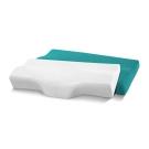 記憶枕 歐美熱銷款 超吸溼排溼表布 3D護頸型釋壓記憶枕 大尺寸 2入