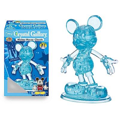 3 D Ctystal Galley - 迪士尼水晶拼圖(米奇/粉藍色)