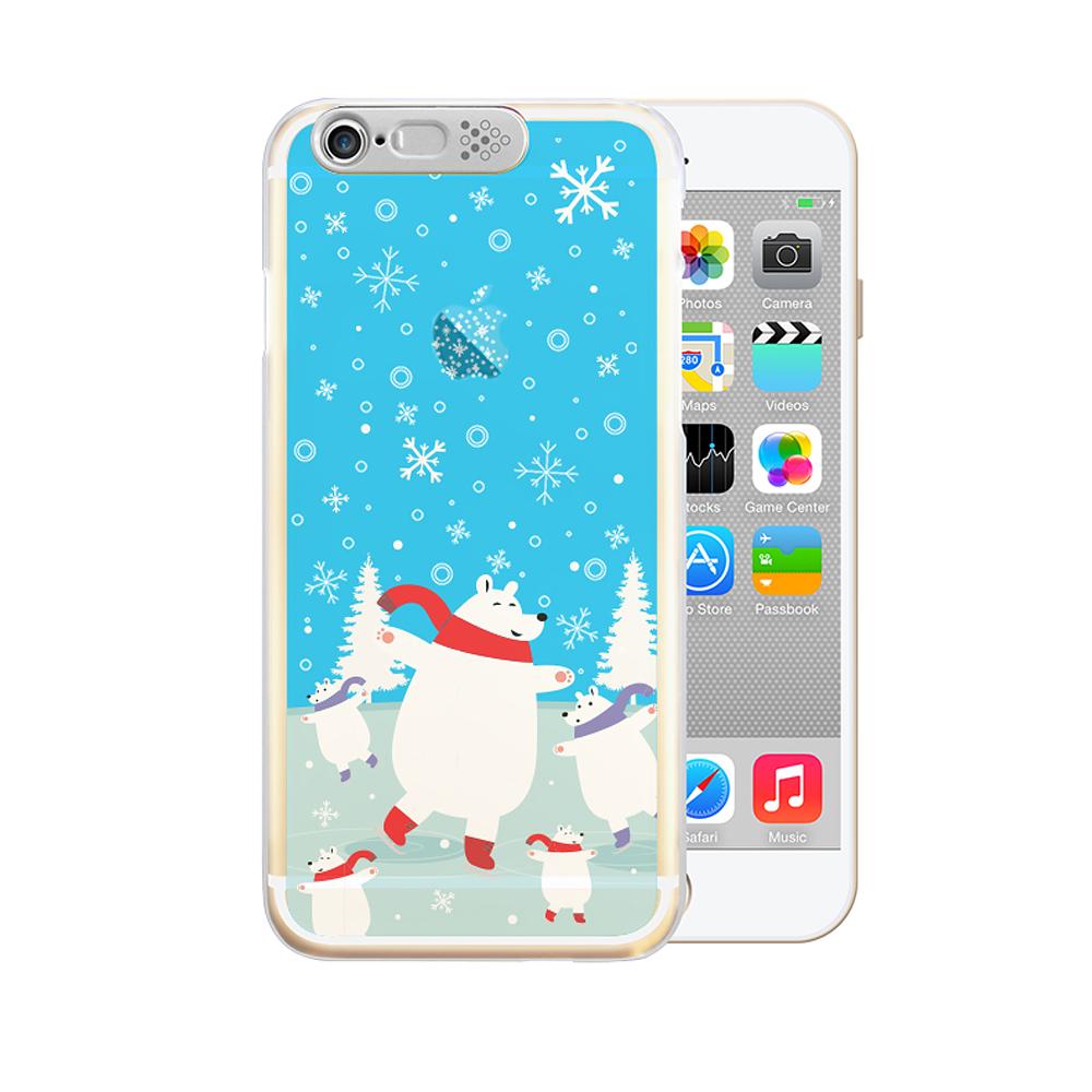 OPENBOX iPhone 6/6S 4.7 爆閃手機殼 動物款-北極熊