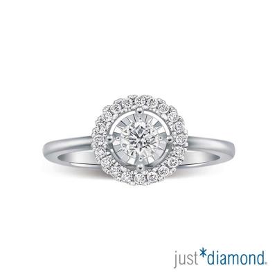 Just Diamond 萬花筒系列 18K金 鑽石戒指