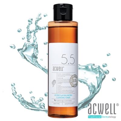 ACWELL艾珂薇 NO5.5 甘草深層極緻保濕舒緩卸妝水150ml