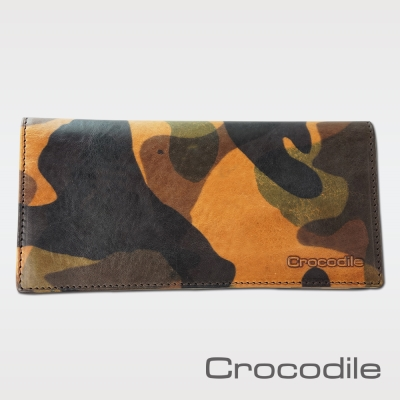 Crocodile 迷彩系列多卡長夾 0103-08401-08