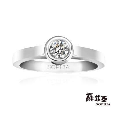 蘇菲亞SOPHIA 鑽戒-歡愉0.15克拉鑽石戒指