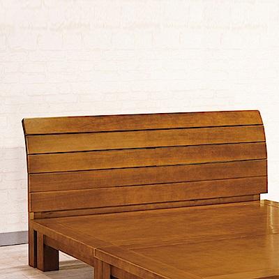 AS-伊登6尺樟木色床頭片-182x12x105cm