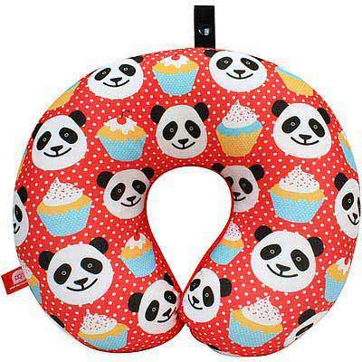 DQ Neck 緩衝顆粒護頸枕(熊貓)