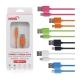 HANG HTC/三星/MICRO USB 耐拉傳輸充電線 product thumbnail 1