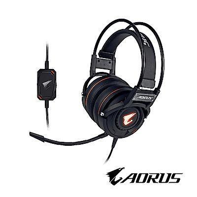技嘉AORUS H5 RGB電競耳機麥克風