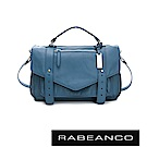 RABEANCO Modern現代美學系列雙飾帶包(小) 船塢藍