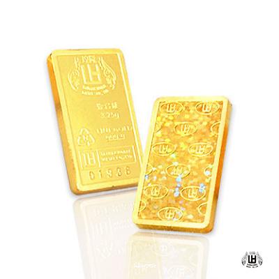 煌隆 壹台錢黃金條塊兩塊(共2台錢)