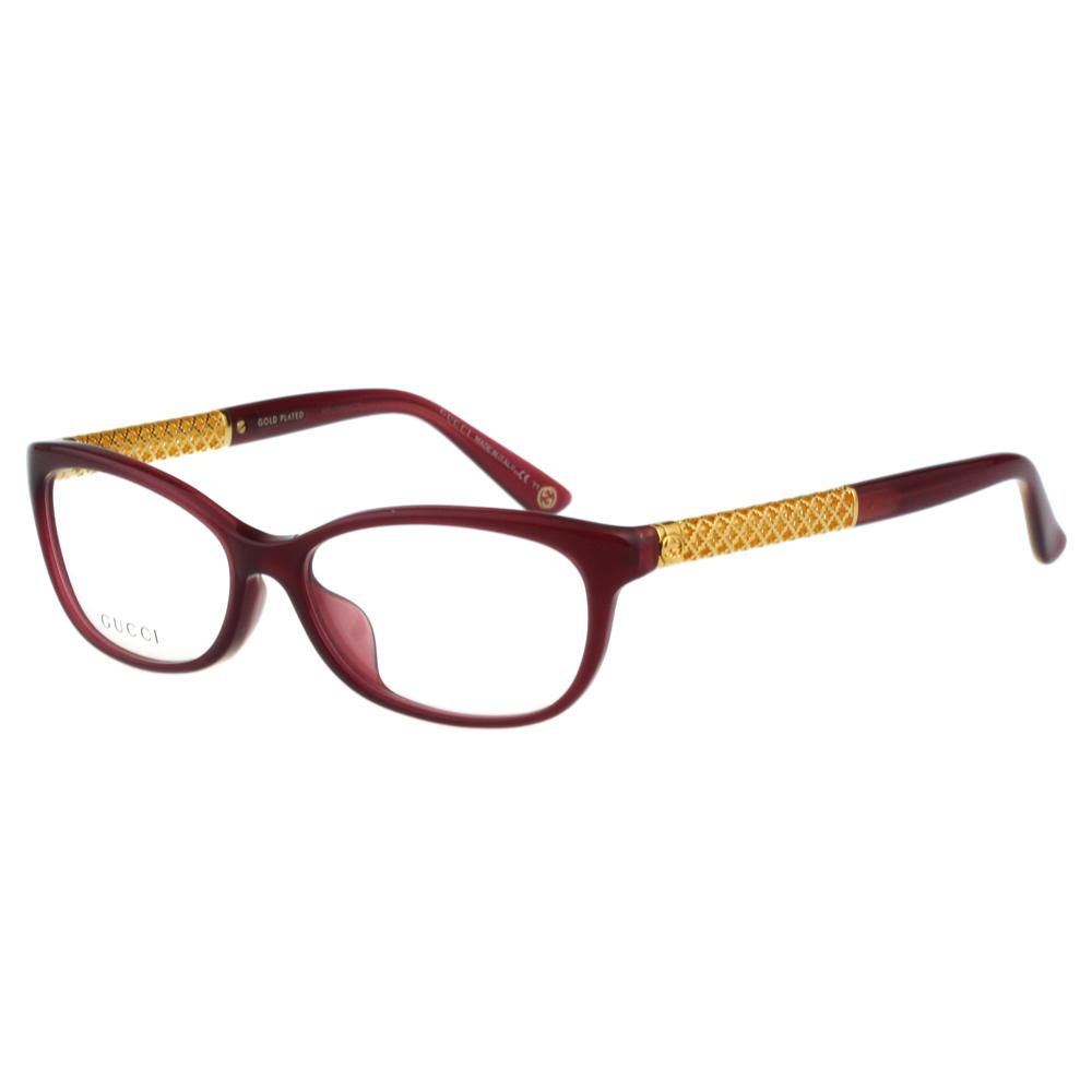 GUCCI-時尚光學眼鏡(紅色) @ Y!購物