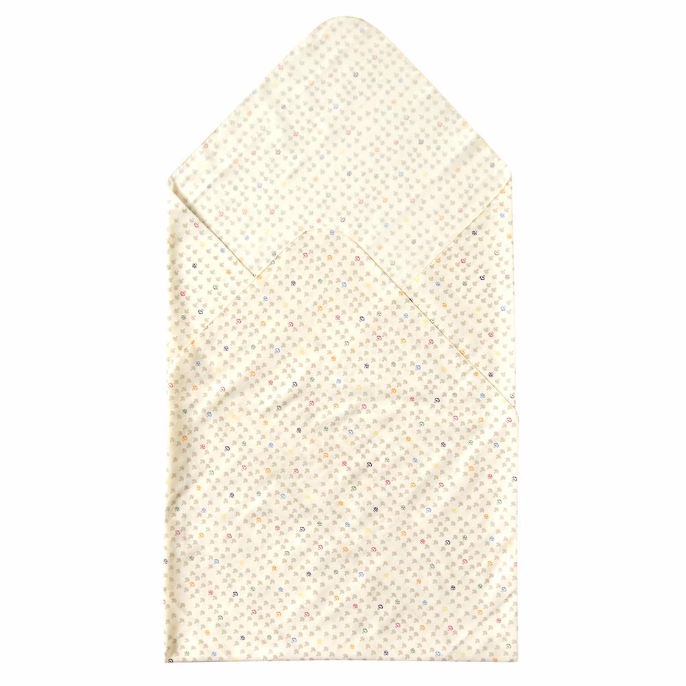 【Hoppetta】多功能紗布巾-白蘑菇