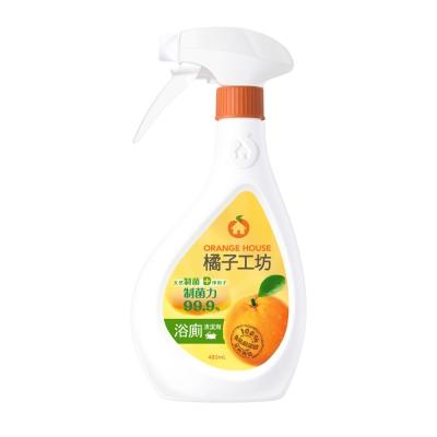 橘子工坊 天然浴廁清潔劑480ml x12瓶-制菌活力/箱