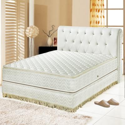 Ally愛麗 正四線3M防潑水-矽膠蜂巢式獨立筒床墊-雙人加大6尺