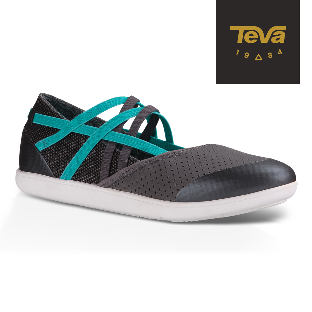 TEVA 美國 女 Hydro-Life Slip-On 輕量休閒鞋 (灰)