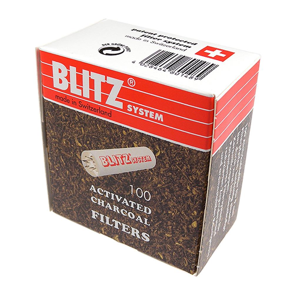 【BLITZ】煙斗用9mm活性碳濾心~瑞士製造